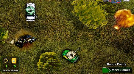 Screenshot - Massive Tank Attacks