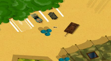 Screenshot - Military Camp Parking