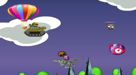 Screenshot - Tank In Air